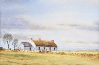 COTTAGES AT LISNAMUCK, AGHADOWEY by Alymer E. Armstrong UWS at Ross's Auctions
