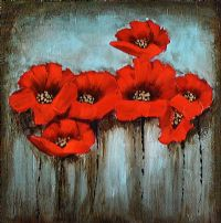 POPPIES by English School at Ross's Auctions