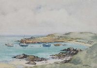 IRISH HARBOUR by E.M. Stevenson at Ross's Auctions
