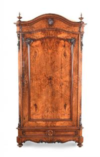 ANTIQUE WALNUT WARDROBE at Ross's Auctions