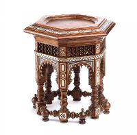 MOORISH OCCASIONAL TABLE at Ross's Auctions
