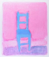 BLUE CHAIR by Neil Shawcross RHA RUA at Ross's Auctions
