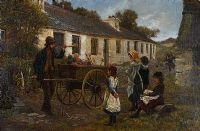 TOY SELLER by 19th Century Irish School at Ross's Auctions