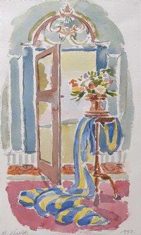 FLOWERS BY THE DOOR by M. Sheilds at Ross's Auctions
