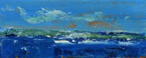 SEASCAPE by Daniel O'Neill at Ross's Auctions