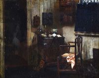 AN INTERIOR SCENE by Edith Sprague at Ross's Auctions