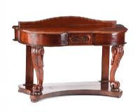 VICTORIAN MAHOGANY DRESSING TABLE at Ross's Auctions
