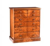 VICTORIAN WALNUT CHEST OF DRAWERS at Ross's Auctions