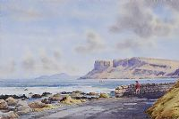 EVENING FAIRHEAD, COUNTY ANTRIM by Alymer E. Armstrong UWS at Ross's Auctions