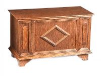 OAK BLANKET CHEST at Ross's Auctions