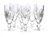 SET OF SIX WATERFORD WINE GLASSES at Ross's Auctions