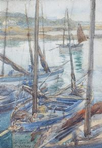 ARDGLASS HARBOUR by David Gould at Ross's Auctions