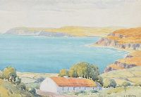 COTTAGE ON THE ANTRIM COAST by Louis Affolter at Ross's Auctions