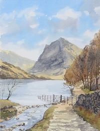 BUTTERMERE, CUMBRIA by Susan Forth at Ross's Auctions