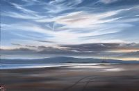 EVENING LIGHT, BULL ISLAND, DUBLIN by Eileen Meagher at Ross's Auctions
