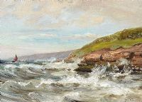 SEASCAPE by Irish School at Ross's Auctions