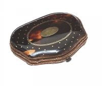 ANTIQUE TORTOISESHELL PURSE at Ross's Auctions