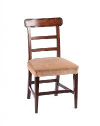 GEORGIAN MAHOGANY SIDE CHAIR at Ross's Auctions