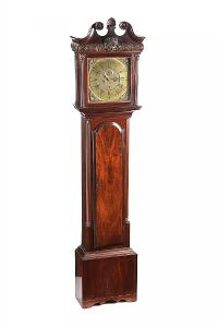 IRISH LONGCASE CLOCK at Ross's Auctions
