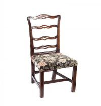 GEORGIAN LADDER BACK CHAIR at Ross's Auctions