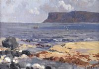 FAIR HEAD, BALLYCASTLE by James Humbert Craig RHA RUA at Ross's Auctions