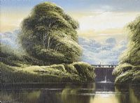 THE LOCK GATES by David H. James at Ross's Auctions