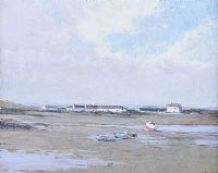 GROOMSPORT HARBOUR by Hans Iten RUA at Ross's Auctions