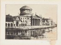 LAW COURTS, DUBLIN by M. Rudge at Ross's Auctions
