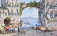 ITALIAN COASTAL SCENES by M. Gianni at Ross's Auctions