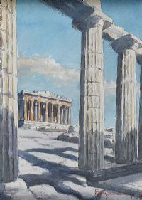 THE RUINS by Italian School at Ross's Auctions