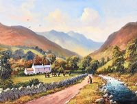 HARE'S GAP, THE MOURNES by William Yeaman at Ross's Auctions