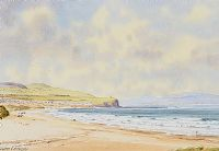 PORTSTEWART STRAND by Alymer E. Armstrong UWS at Ross's Auctions