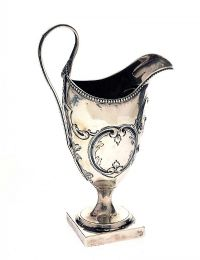LONDON SILVER CREAM JUG at Ross's Auctions
