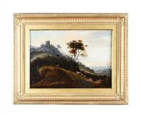 GILT FRAMED OIL ON BOARD BY ABRAHAM BLOMMAERT at Ross's Auctions