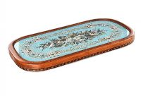 VICTORIAN BEAD WORK TRAY at Ross's Auctions