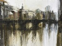 GRATTAN, RIVER LIFFEY, DUBLIN by Colin Davidson RUA at Ross's Auctions