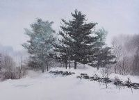 WINTER REVEUE by Edwin Havas at Ross's Auctions