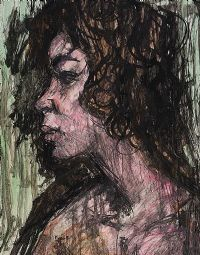 PORTRAIT OF A GIRL by Gladys Maccabe HRUA at Ross's Auctions