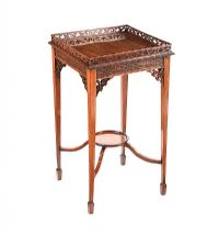MAHOGANY LAMP TABLE at Ross's Auctions