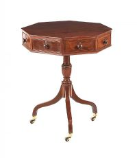 GEORGIAN MAHOGANY DRUM TABLE at Ross's Auctions