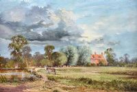 SUSSEX SUMMER DAY by Alwyn Crawshaw at Ross's Auctions