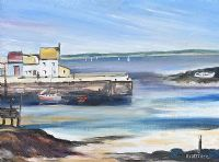 GALWAY HARBOUR by Edith Fletcher at Ross's Auctions