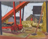 THE HAYSHED by Harry Kernoff RHA at Ross's Auctions