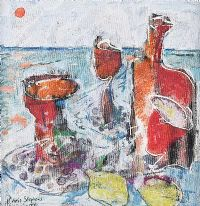 SUN, SEA & SANGRIA by Chris Stephens at Ross's Auctions