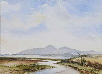VIEW OF THE MOURNES by Yvonne Adams at Ross's Auctions