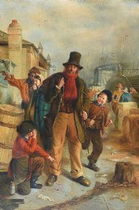 THE SHOESHINER by English School at Ross's Auctions
