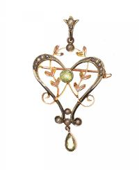 EDWARDIAN 9CT GOLD PENDANT at Ross's Jewellery Auctions