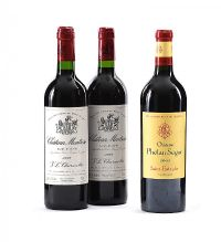 CHATEAU MONTROSE 1998 AND CHATEAU PHELAN SEGUR 2003 at Ross's Auctions