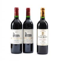 CHATEAU TALBOT 2003, CHATEAU LA GRANGE 2000 & 2002 at Ross's Auctions