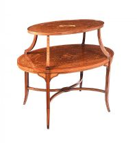 OVAL ETAGERE at Ross's Auctions